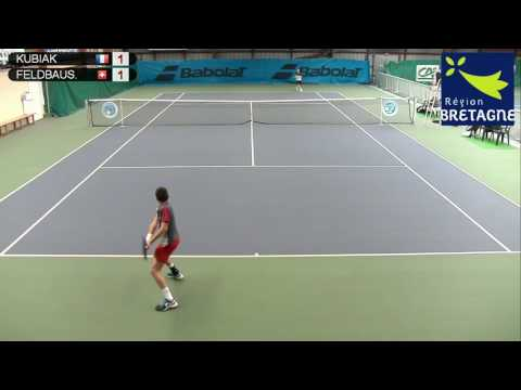 KUBIAK (FRA) vs FELDBAUSCH (SUI) - Open Super 12 Auray Tennis - Court 3