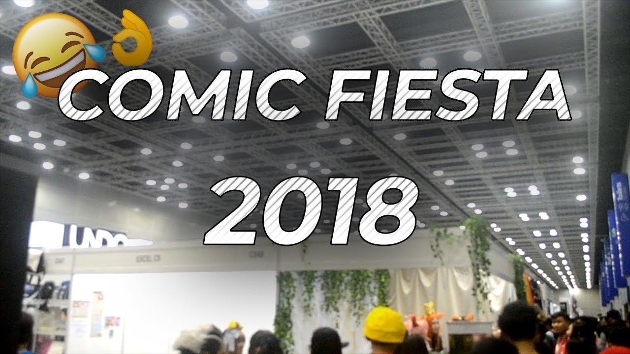 COMIC FIESTA 2018 ?? | Vlog - YouTube