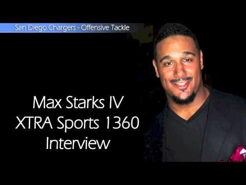 XTRA Sports 1360 talks w/Max Starks - San Diego Chargers