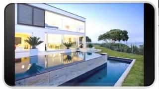 Blue Modern Home Interior Design