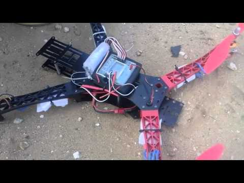 quadcopter designed and developed at Technical University Of Mombasa