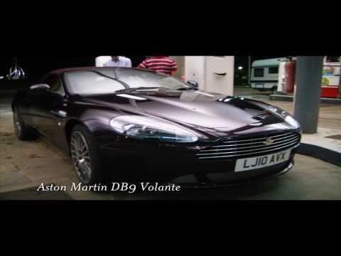 Aston Martin DB9 V12 Sound ( Start up & Rev )