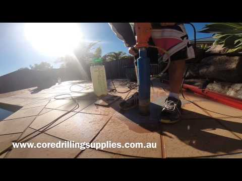 Tips and hints for core drilling concrete