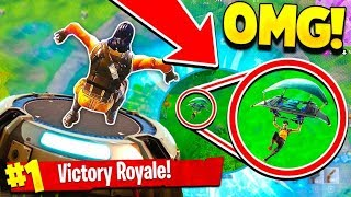 THE NEW BEST WAY TO WIN A GAME OF FORTNITE BATTLE ROYALE!