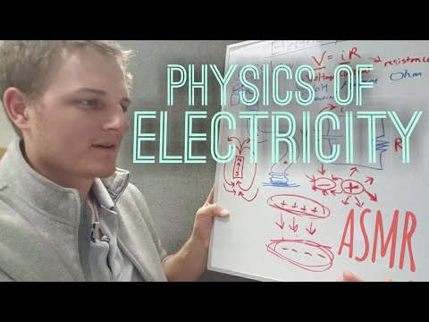 ASMR 130: Introduction to the Physics of Electricity pt. 1 | Visualizing Concepts
