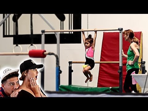 SPYING ON ELLE IN HER GYMNASTICS CLASS **IN SHOCK**