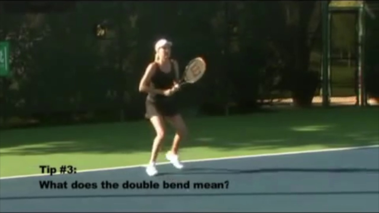 "What is the ""Double Bend"" Forehand in Tennis"