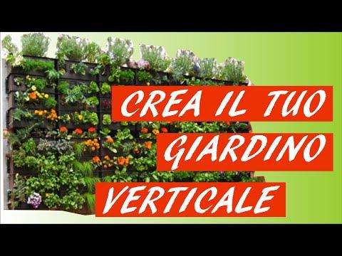 giardini verticali ora arriva l 39 orto a parete doovi On crea il tuo giardino