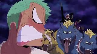One Piece Luffy Sanji and Zoro funny moments