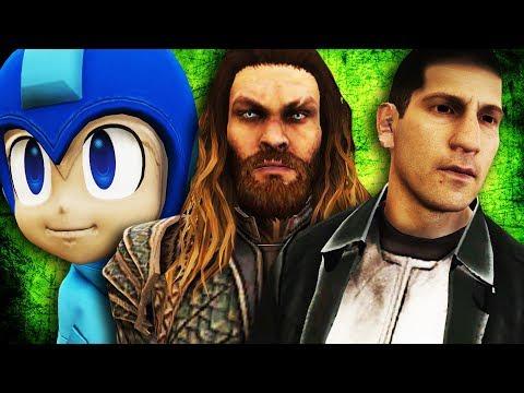 GTA V PC - Aquaman, Justiceiro, Megaman e Mais (MODS)