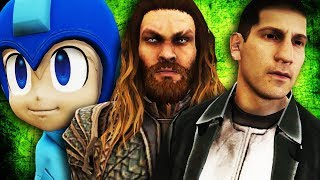 GTA V PC - Aquaman, Justiceiro, Megaman e Mais (MODS)