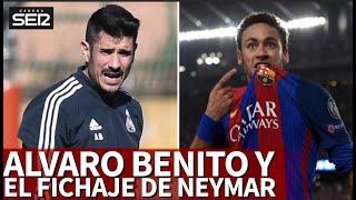 Álvaro Benito Le Da Vueltas Al Fichaje De Neymar... Cómo Encajaría En El Barça  Diario As