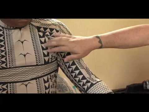 C4 Waterman Ka Uhi Authentic Polynesian Tattoo Rash Guard