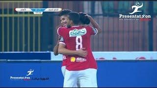أهداف مباراة الأهلي والإنتاج والحربي
