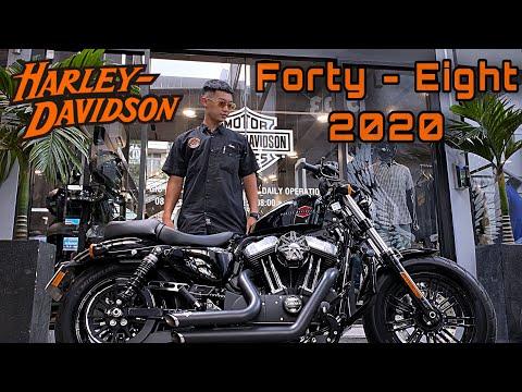 Harley - Davidson 48 đời 2020 mới đi 545 km chỉ còn 465 triệu tại XeHarleySaigon