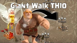3 Stars Attack Clan Wars ~ Giant Walk TH10 Clash of Clans ~ COC Indonesia