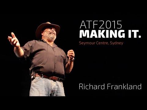 TNA's ATF 2015: Richard Frankland, Keynote Address