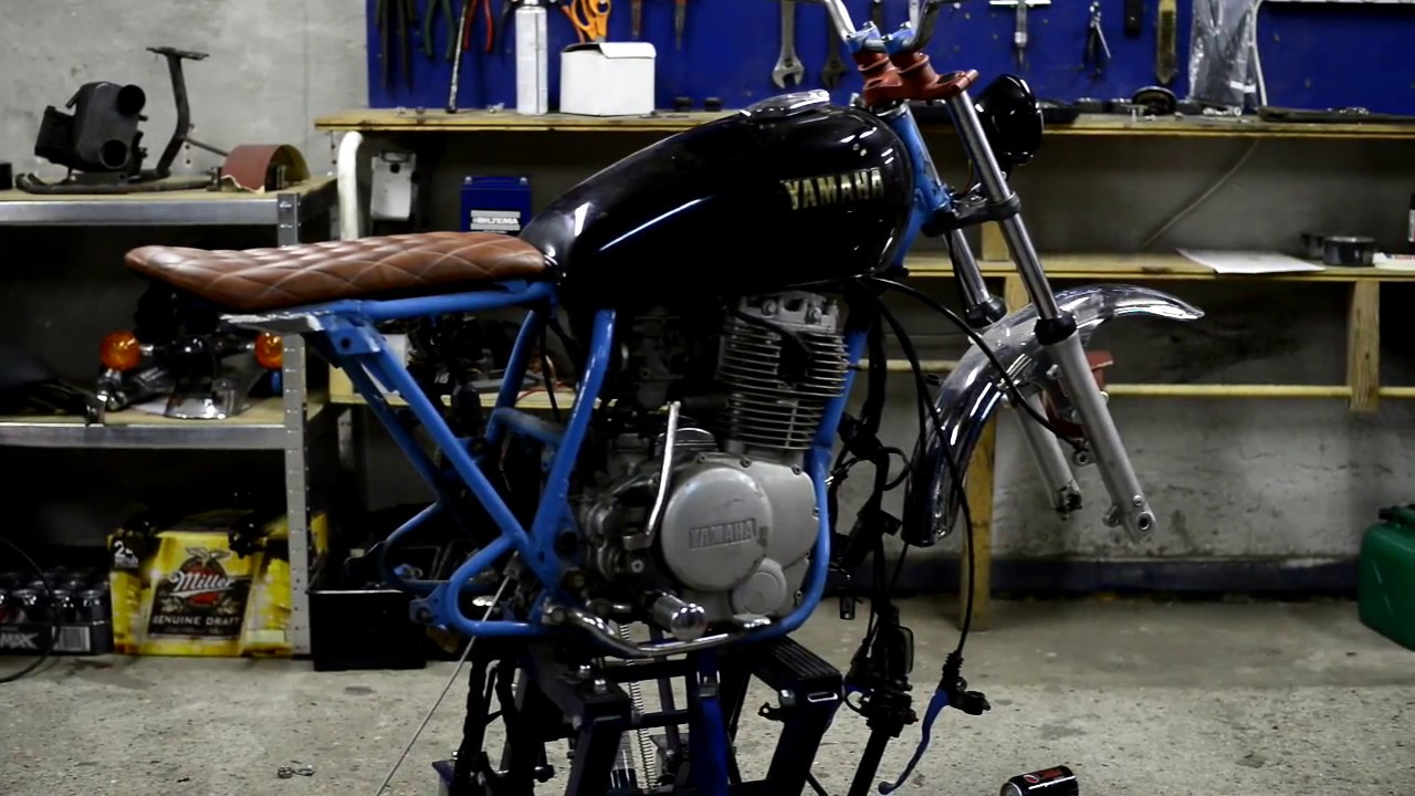 Yamaha XS400 Scrambler Build Buying New Bikes Webisode 2
