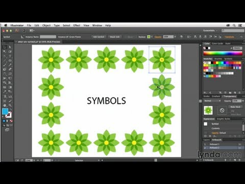 Illustrator tutorial: What are symbols and how do I use them? | lynda.com