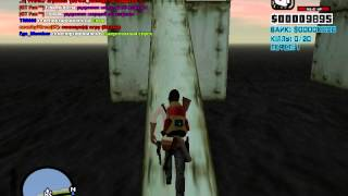 GTA San andres игра на серваке, паркур!