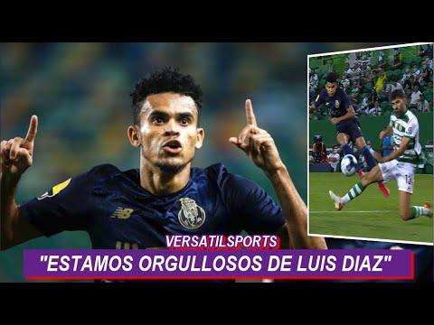 ASI REACCIONA PRENSA PORTUGAL a GOLAZO de LUIS DIAZ SPORTING LISBOA vs PORTO