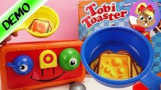 Wesoły Toster gra zręcznościowa | Łapiemy tosty z nutellą!