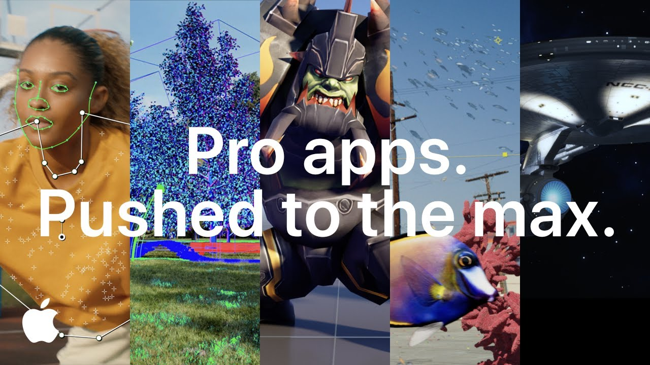 Pro apps. Pushed to the max. | Apple