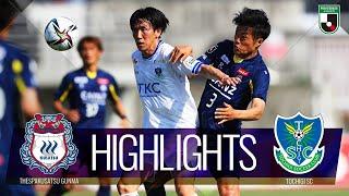 ザスパクサツ群馬vs栃木SC J2リーグ 第16節