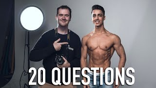 WHAT'S YOUR BIGGEST INSPIRATION? - 20 Questions with Fraser Wilson