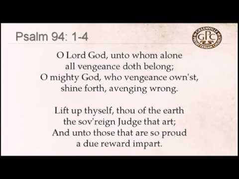 Psalm 94 1-4 to Coleshill