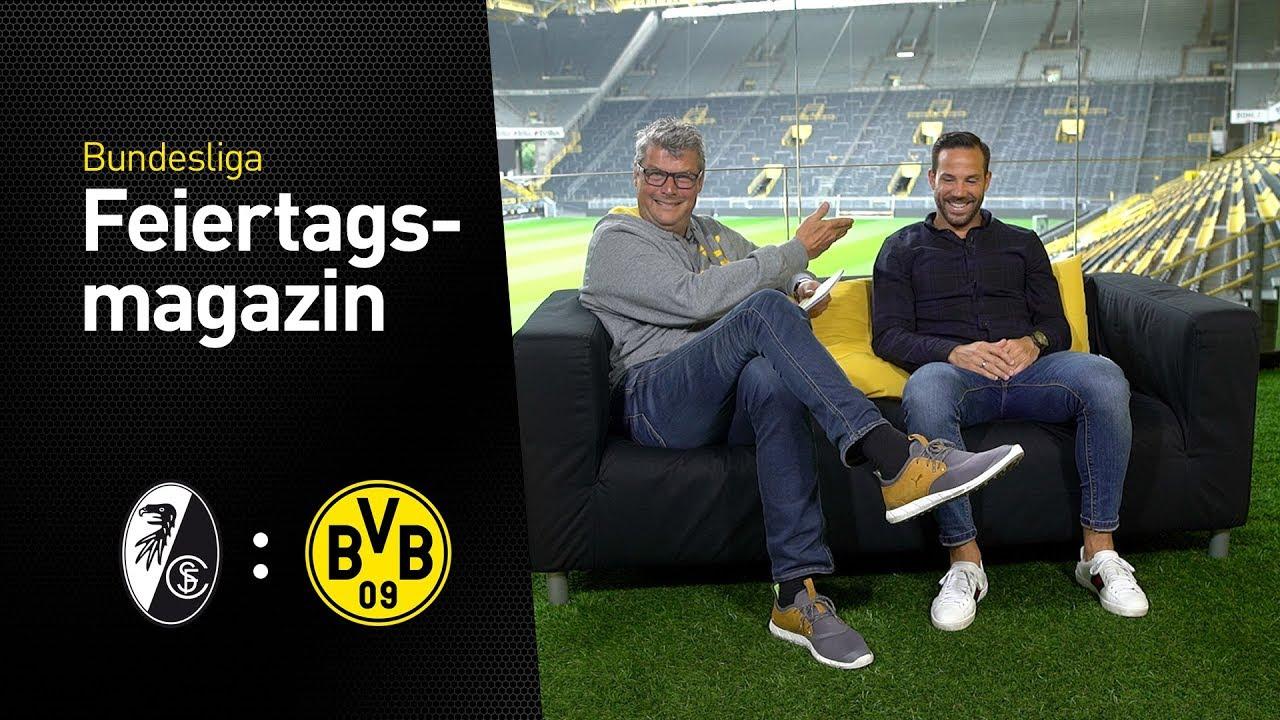 Das BVB total!-Feiertagsmagazin zum 3. Spieltag   SC Freiburg - Borussia Dortmund