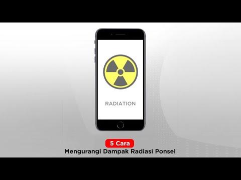 Cara Mencegah Radiasi Ponsel