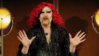A drag queen's advice on shame  | Tom/Crystal Rasmussen | TEDxLondonWomen