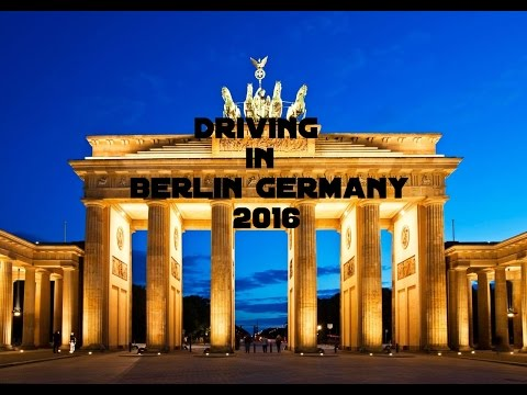 Driving in Berlin Germany 2016 | Video Driving Worldwide
