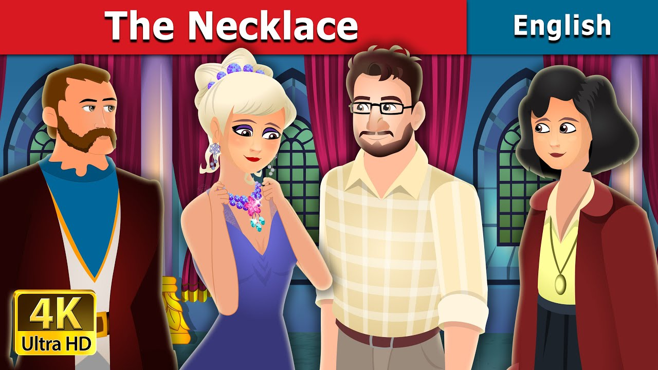 The Necklace Story in English | Stories for Teenagers | English Fairy Tales