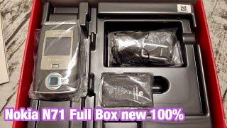 Nokia N71 Vodafone Full Box  siêu hiếm - trummayco.vn