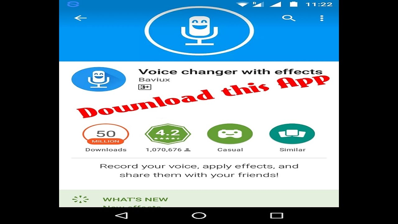 Convert Text To Voice Using Mobile App - Voice Changer With Effects