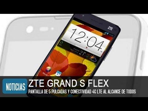 ZTE Grand S Flex, precio y características del nuevo teléfono chino