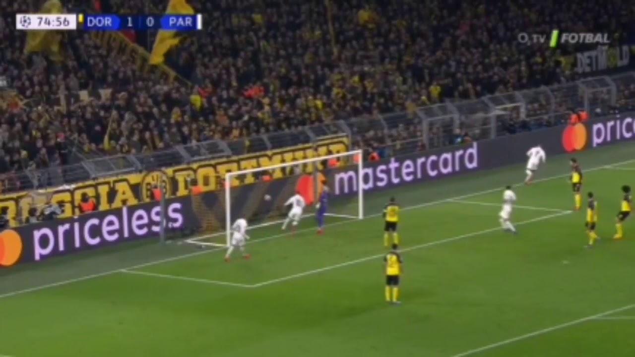 Neymar pareggia immediatamente i conti; Borussia-PSG 1-1.