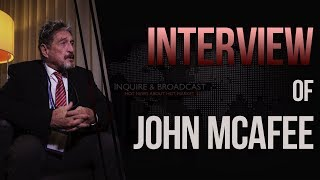 John McAfee about crypto: Banks will disappear, and they know this