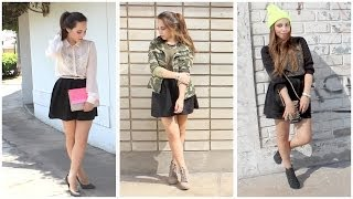 Combina tu falda negra! - Outfits | What The Chic Thumbnail