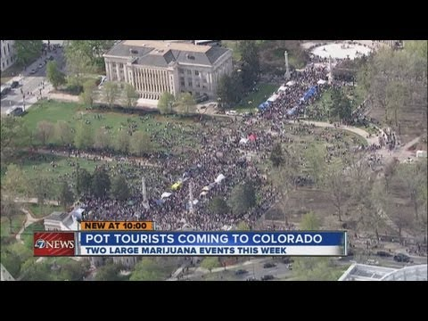 Pot tourists on their way to Colorado