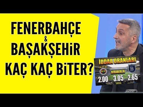Fenerbahçe-Başakşehir Maçı Kaç Kaç Biter? İşte Yorumcularımızın Tahminleri