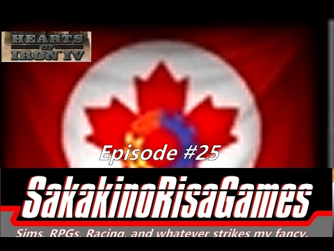 Hearts of Iron 4: Together for Victory DLC: Canada Popular State - Episode 25