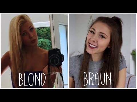 Haare blonde braune Braune Haare