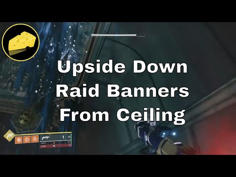 Upside Down Raid Banners From Ceiling