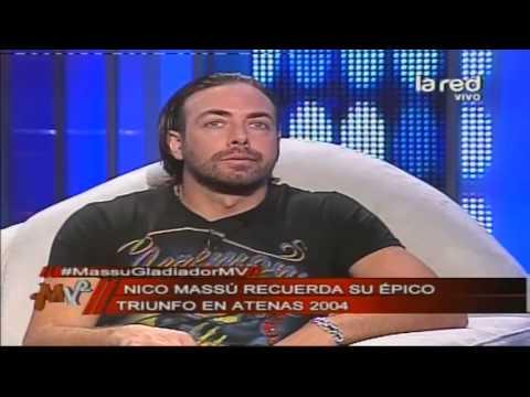 Nicolás Massú cuenta cómo fue la final de Atenas 2004 con Mardy Fish