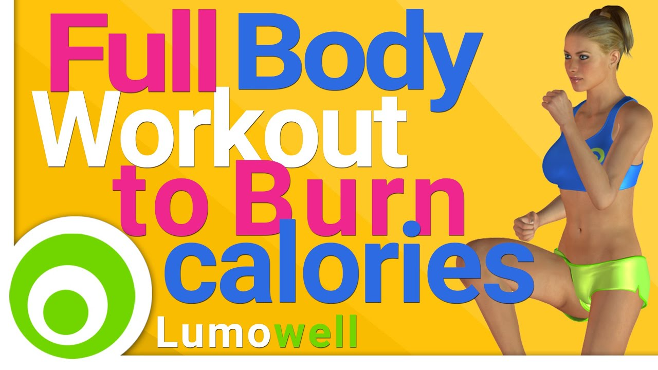 Calorie Burning Full Body Workout at Home. Burn Calories ...