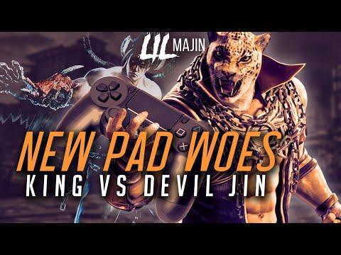 New PS4 Pad Woes! King vs Devil Jin!