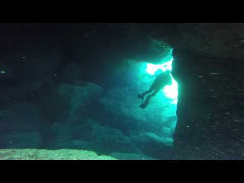 Diving st paul's bay Rhodes, June 2016